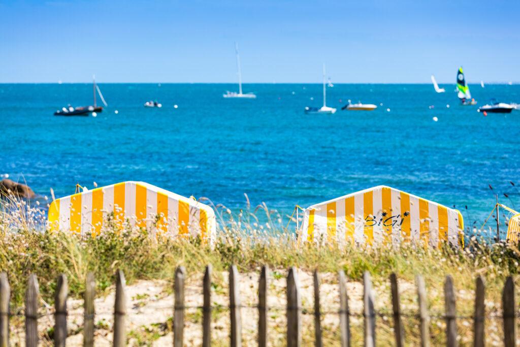 vue sur la grande plage