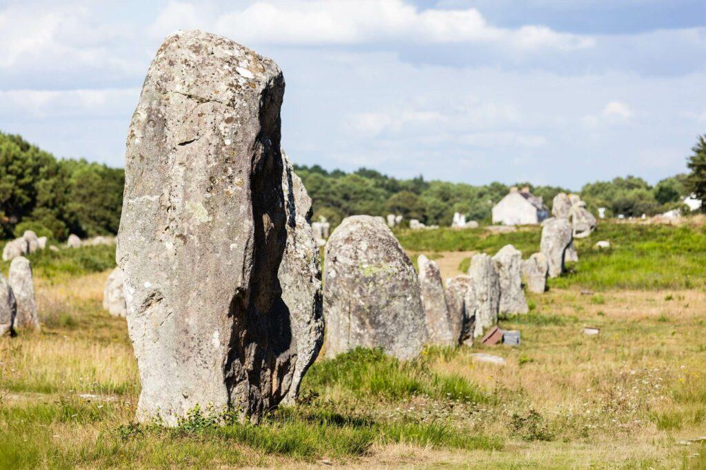 alignement des menhirs de carnac