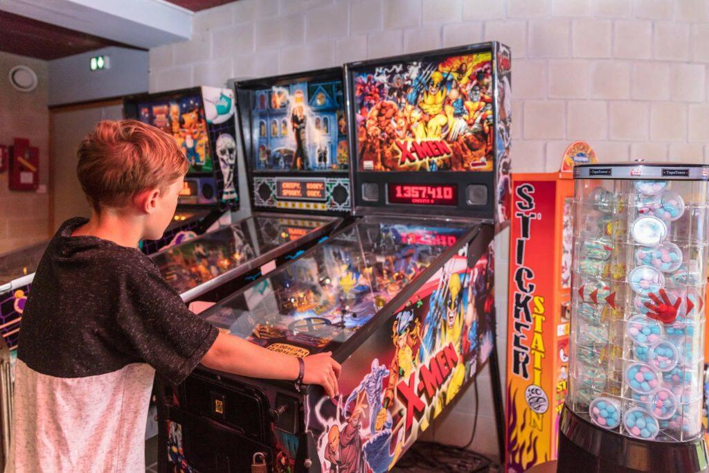 salle de jeux vidéo à carnac